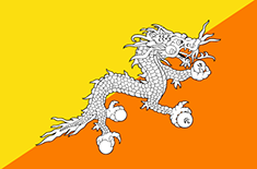 country Bhutan (Centrala)